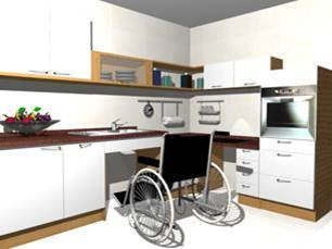 Special Needs Kitchen